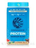 Warrior Blend (Plant-Based Organic Protein, Mocha Flavor) - 1.65 lb (750 Grams)