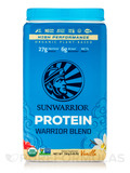Warrior Blend (Raw Vegan Protein, Vanilla Flavor) - 35.2 oz (1000 Grams)