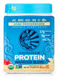 Warrior Blend (Raw Vegan Protein, Vanilla Flavor) 17.6 oz (500 Grams)