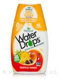 Water Drops® Delicious Stevia Water Enhancer, Tropical Punch Flavor - 1.62 fl. oz (48 ml)