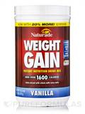 Weight Gain Powder Sugar Free Vanilla 16.93 oz