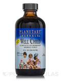 Well Child Echinacea-Elderberry Herbal Syrup (Alcohol Free) - 8 fl. oz (236.56 ml)