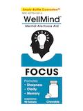 WellMind™ Mental Alertness Aid Focus, Lemon Flavor - 90 Tablets