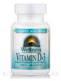 Wellness Vitamin D-3 2000 IU 100 Softgels