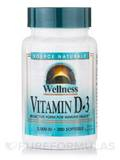 Wellness Vitamin D-3 2000 IU - 200 Softgels