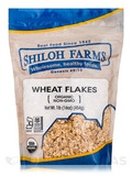 Wheat Flakes, Organic - 16 oz (454 Grams)