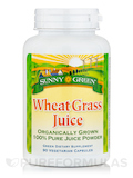 Wheat Grass Juice Powder - 90 Vegetarian Capsules