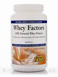 Whey Factors Powder Mix Vanilla 2 lb (907 Grams)