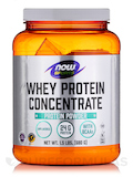 NOW® Sports - Whey Protein Concentrate (Natural Unflavored) - 1.5 lb (680 Grams)