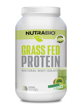 Grass Fed Whey Protein Isolate Powder, Matcha Latte Flavor - 2 lb (907 Grams)