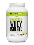 Grass Fed Whey Protein Isolate Powder, Vanilla Flavor - 2 lb (907 Grams)