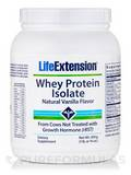Whey Protein Isolate Natural Vanilla Flavor 16 oz (454 Grams)