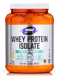 NOW® Sports - Whey Protein Isolate Vanilla - 1.8 lbs (816 Grams)