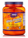 NOW® Sports - Whey Protein Natural Vanilla - 2 lbs (907 Grams)