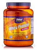 NOW® Sports - Whey Protein, Strawberry Flavor - 2 lbs (907 Grams)