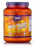 NOW® Sports - Premium Whey Protein, Natural Vanilla Flavor - 2 lbs (907 Grams)