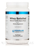 Whey Satisfied™ Natural Vanilla Spice Flavor - 18 oz (510 Grams)
