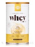 Whey To Go® Protein Powder Natural Vanilla Flavor - 12 oz (340 Grams)