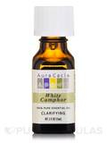 White Camphor Essential Oil (cinnamonium camphora) - 0.5 fl. oz (15 ml)
