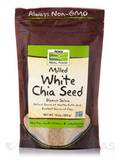 NOW® Real Food - White Chia Seed, Blanco Salvia - 10 oz (284 Grams)