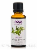 NOW® Essential Oils - White Thyme Oil - 1 fl. oz (30 ml)