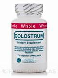 Whole Colostrum 500 mg 120 Capsules