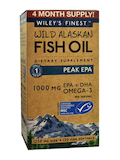 Wild Alaskan Fish Oil - Peak EPA 1000 mg - 120 Fish Softgels