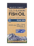 Wild Alaskan Fish Oil - Peak EPA 1000 mg - 60 Fish Softgels