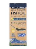 Wild Alaskan Fish Oil - Peak Omega-3 Liquid, Natural Lemon Flavor - 4.23 fl. oz (125 ml)