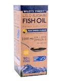Wild Alaskan Fish Oil - Peak Omega-3 Liquid, Natural Lemon Flavor - 8.45 fl. oz (250 ml)