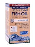 Wild Alaskan Fish Oil - Vitamin K2 500 mg - 60 Fish Softgels