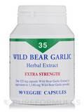 Wild Bear Garlic - 90 Veggie Capsules