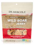 Wild Boar Jerky for Dogs & Cats - 4 oz (113 Grams)
