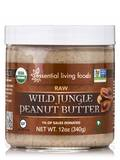 Wild Jungle Peanut Butter, Raw - 12 oz