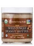 Wild Jungle Peanut Butter, Raw - 12 oz (340 Grams)