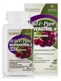 Wild & Pure Resveratrol 500 mg 60 Vegeterian Capsules