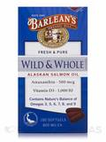 Wild & Whole Alaskan Salmon Oil 800 mg - 180 Softgels