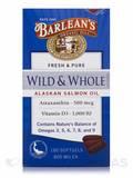 Wild & Whole Alaskan Salmon Oil 800 mg - 180 Softgels