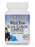 Wild Yam Black Cohosh Complex 740 mg - 60 Tablets