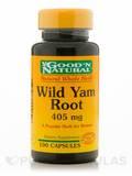 Wild Yam Root 405 mg 100 Capsules