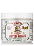 Original Witch Hazel Astringent Pads with Aloe Vera - 60 Count