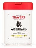 Witch Hazel Toning Towelettes with Aloe Vera, Lemon - 30 Towelettes