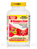 Women's Blend (Iron-Free) - 180 Tablets