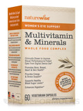 Women's Eye Support Multivitamin & Minerals Whole Food Complex - 60 Vegetarian Capsules