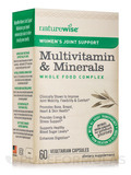 Women's Joint Support Multivitamin & Minerals Whole Food Complex - 60 Vegetarian Capsules