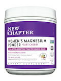 Women's Magnesium Powder + Tart Cherry, Natural Lemon Raspberry Flavor - 3 oz (85 Grams)