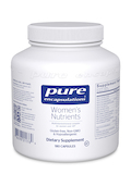 Women's Nutrients 180 Vegetable Capsules