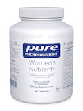 Women's Nutrients - 360 Capsules