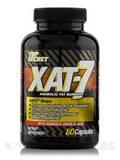 XAT-7 Anabolic Fat Burner 80 Capsules