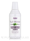 NOW® Solutions - XyliWhite™ Mouthwash, Neem & Tea Tree - 16 fl. oz (473 ml)